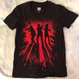 Hot Topic Walking Dead graphic tee